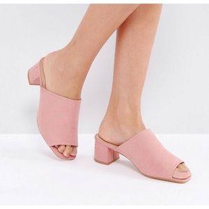 Shoes - Blush Pink Mules🌸